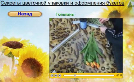 букеты тюльпаны видео